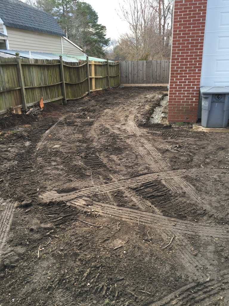 Hampton French Drain Project